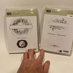 Stampin Up retired stamp set Apothecary Art